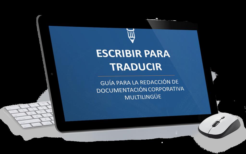 Ebook: Escribir para traducir