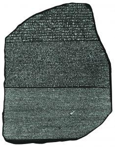 piedra de la roseta