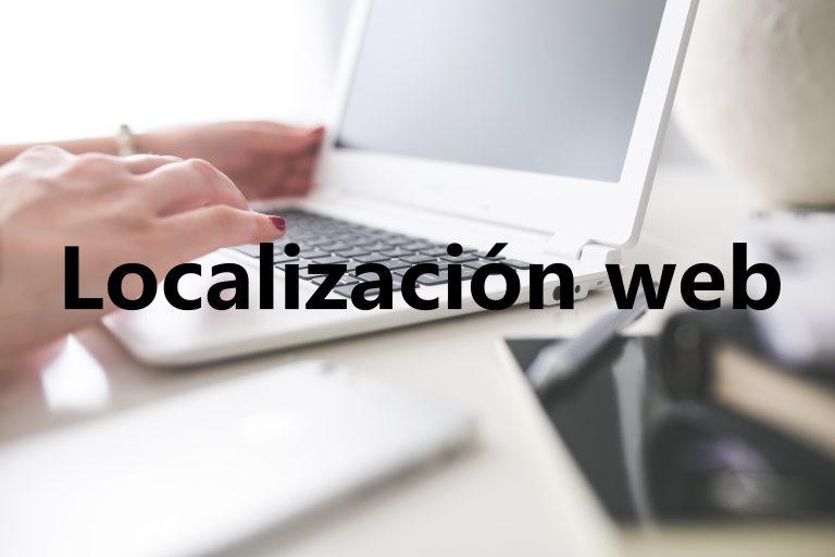 Localización web