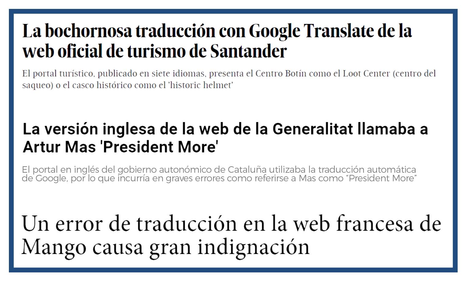 web traduccion