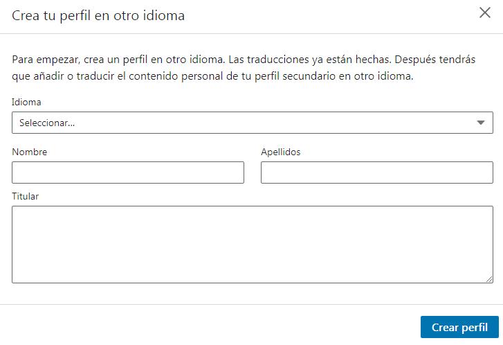traducir Linkedin