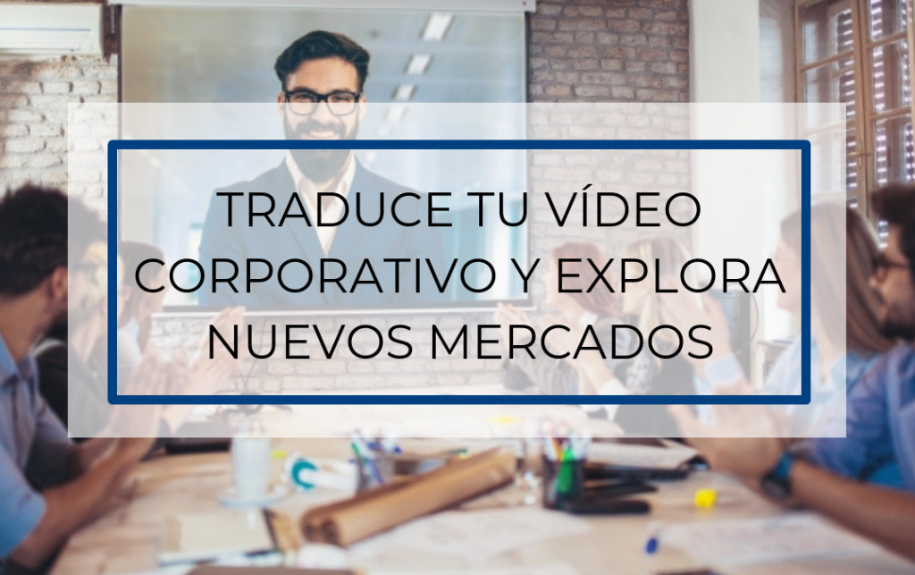video comercial traducir