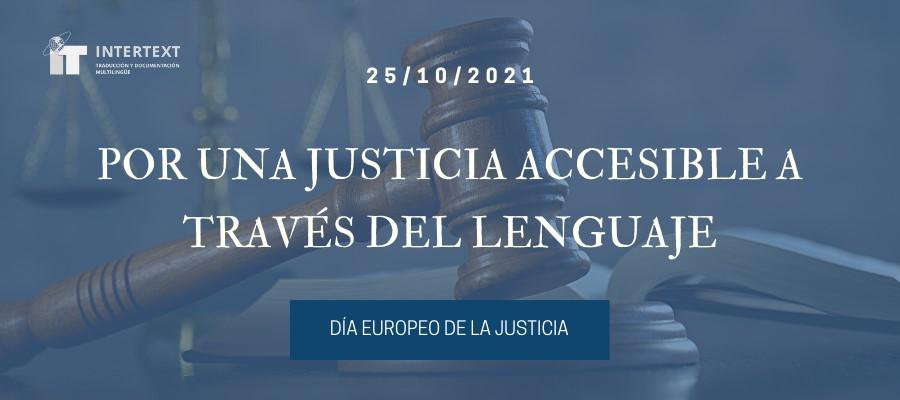día europeo de la justicia